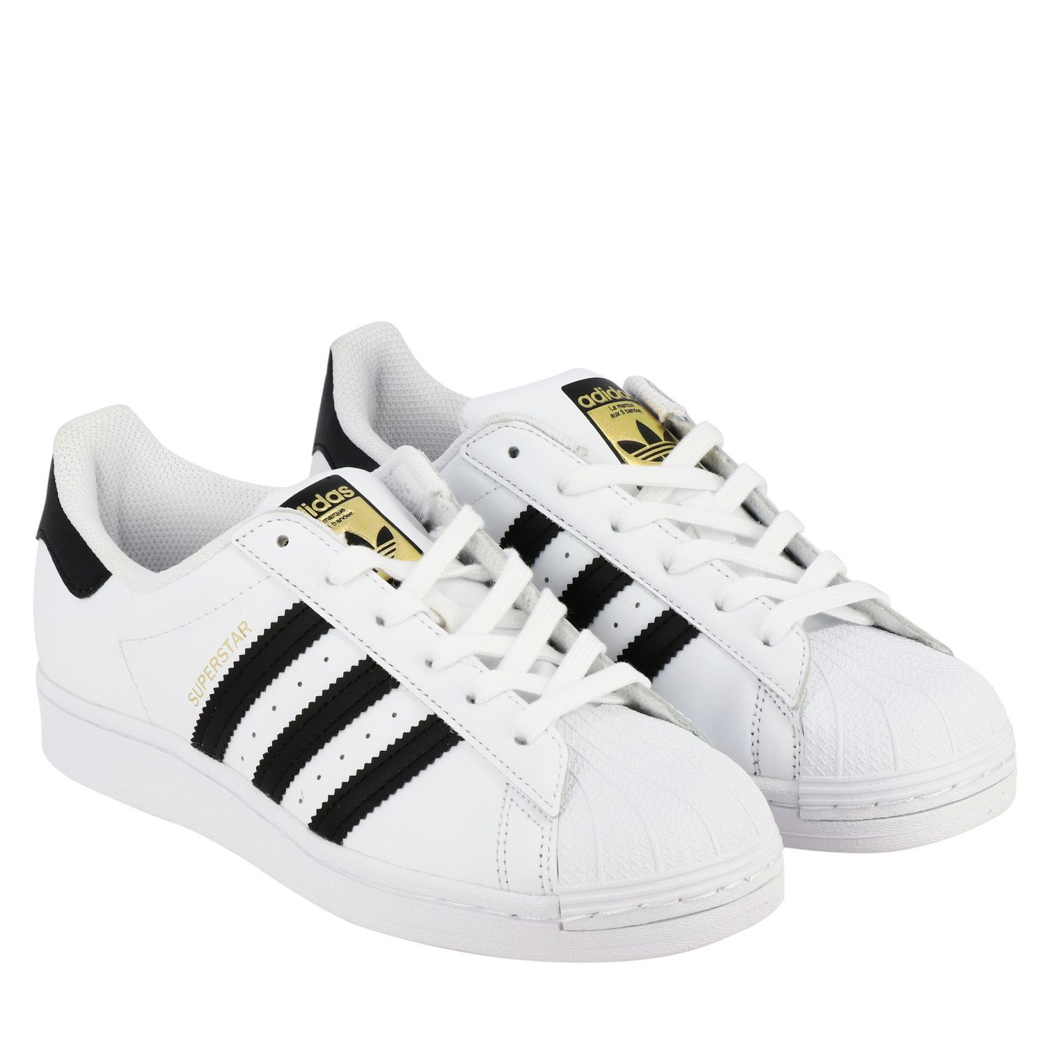 Escudriñar Imperio Inca zapatilla  Superstar J Adidas Originals leather sneakers | Shoes Adidas Originals Kids  White | Shoes Adidas Originals FU7712 Giglio EN