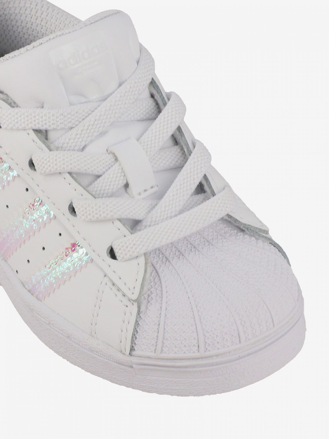 Shoes Adidas Originals: Superstar Adidas Originals sneakers in leather with logo white 3