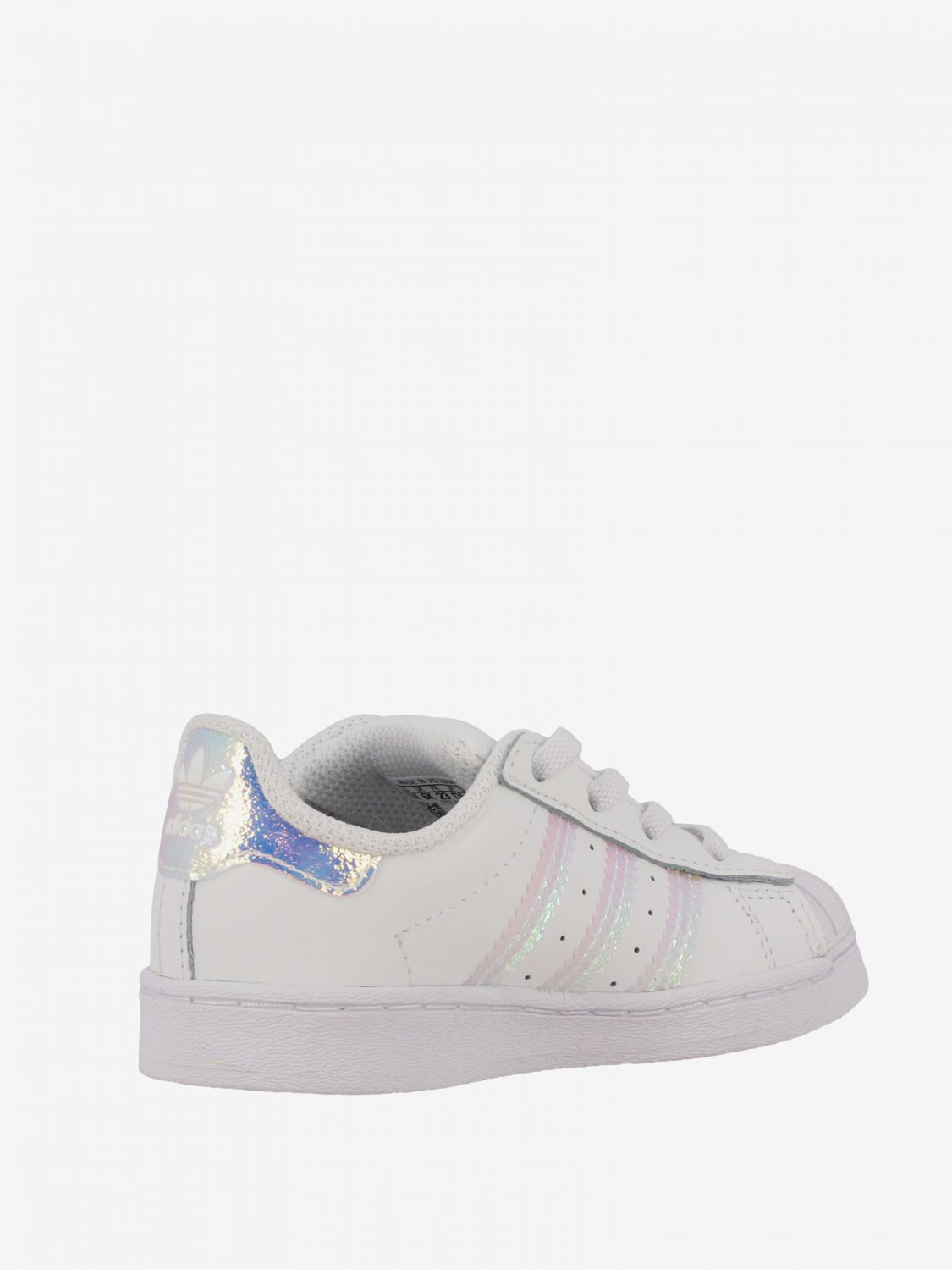 Shoes Adidas Originals: Superstar Adidas Originals sneakers in leather with logo white 4