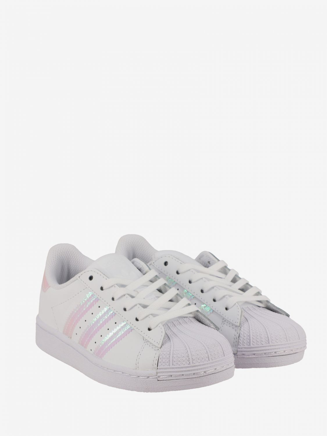 Shoes Adidas Originals: Superstar Adidas Originals sneakers in leather with logo white 2
