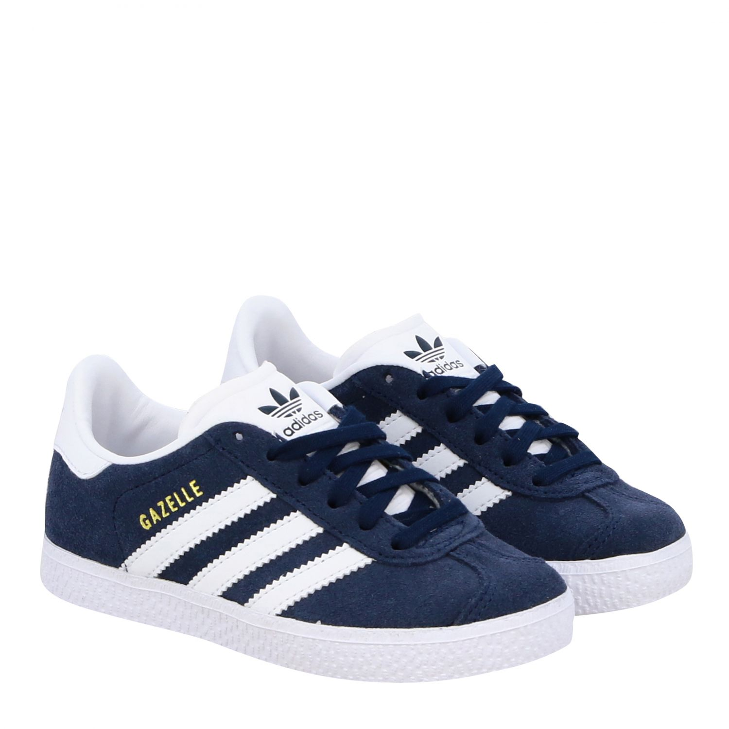 Shoes Adidas Originals: Gazelle C Adidas Originals sneakers in suede and leather blue 2