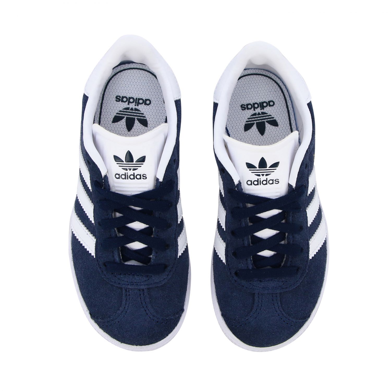Shoes Adidas Originals: Gazelle C Adidas Originals sneakers in suede and leather blue 3