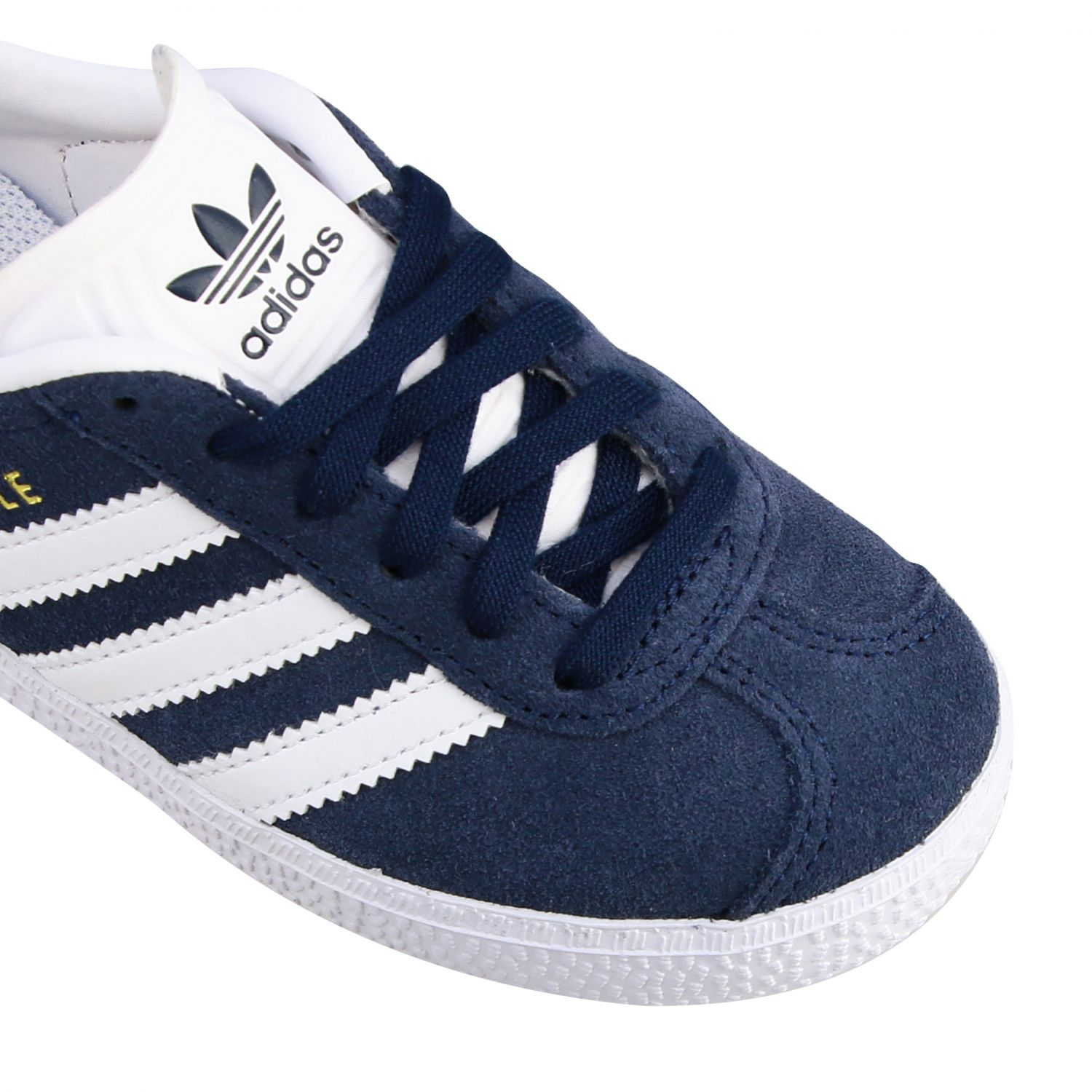 Shoes Adidas Originals: Gazelle C Adidas Originals sneakers in suede and leather blue 4