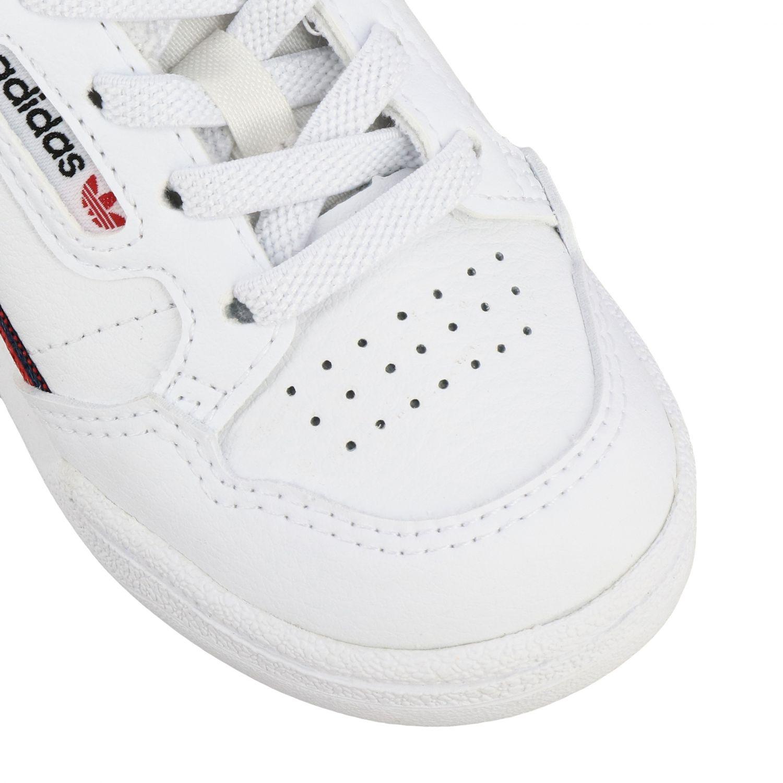 Обувь Adidas Originals: Кроссовки Continental 80 из кожи Детское Adidas Originals белый 4