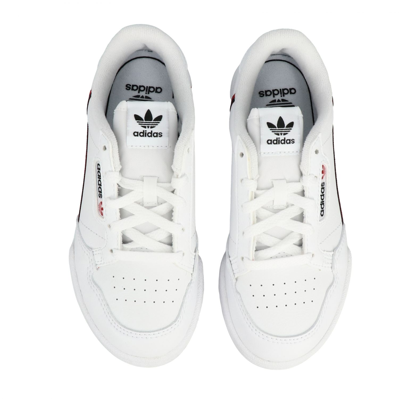 Shoes Adidas Originals: Continental 80 Adidas Originals leather sneakers white 3