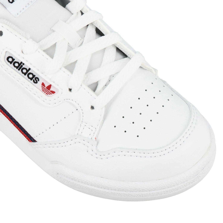 Scarpe Adidas Originals: Sneakers Continental 80 Adidas Originals in pelle bianco 4