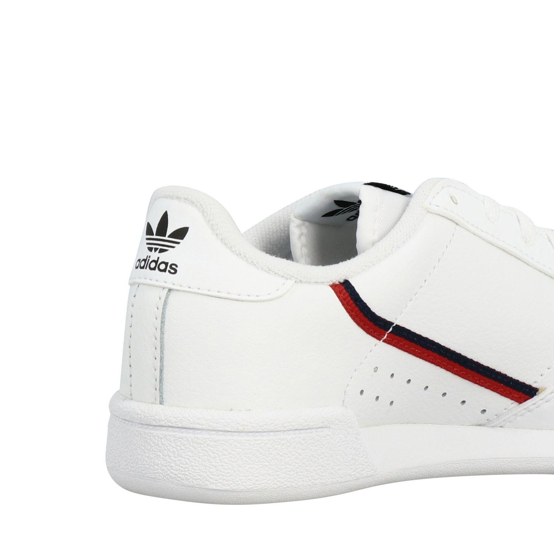 Shoes Adidas Originals: Continental 80 Adidas Originals leather sneakers white 5