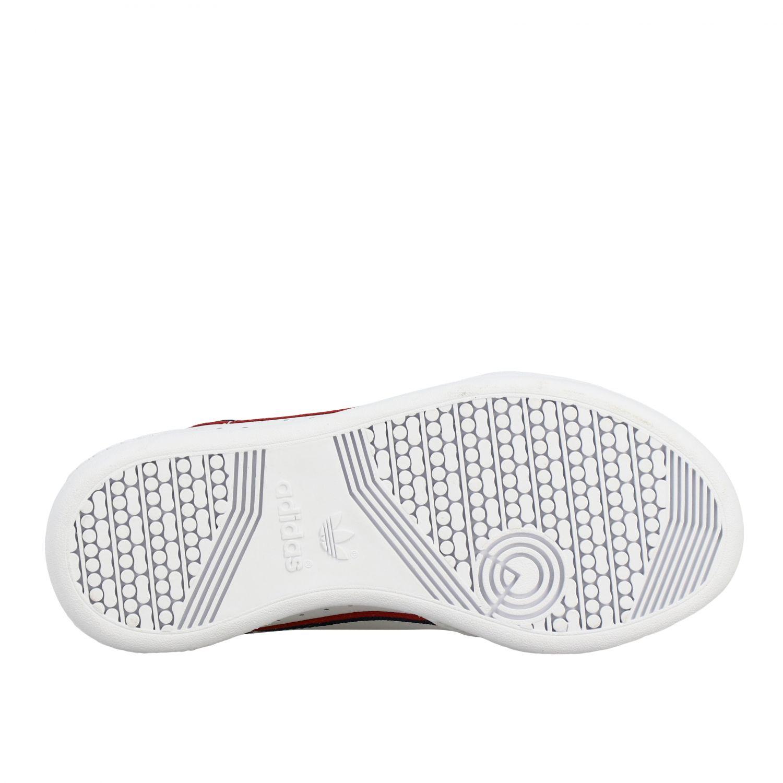 Scarpe Adidas Originals: Sneakers Continental 80 Adidas Originals in pelle bianco 6