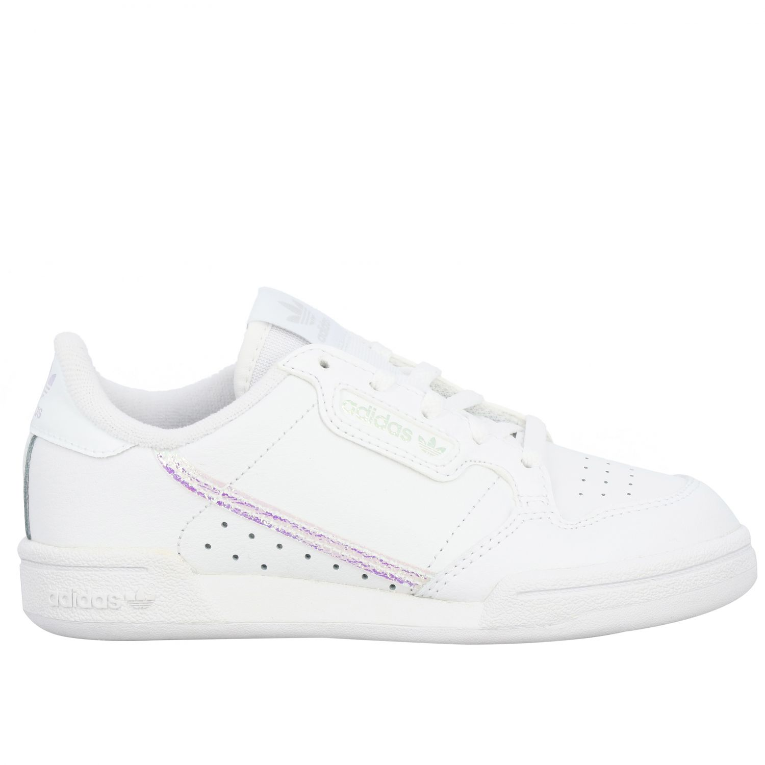 Scarpe Adidas Originals: Sneakers Continental 80 Adidas Originals in pelle bianco 1