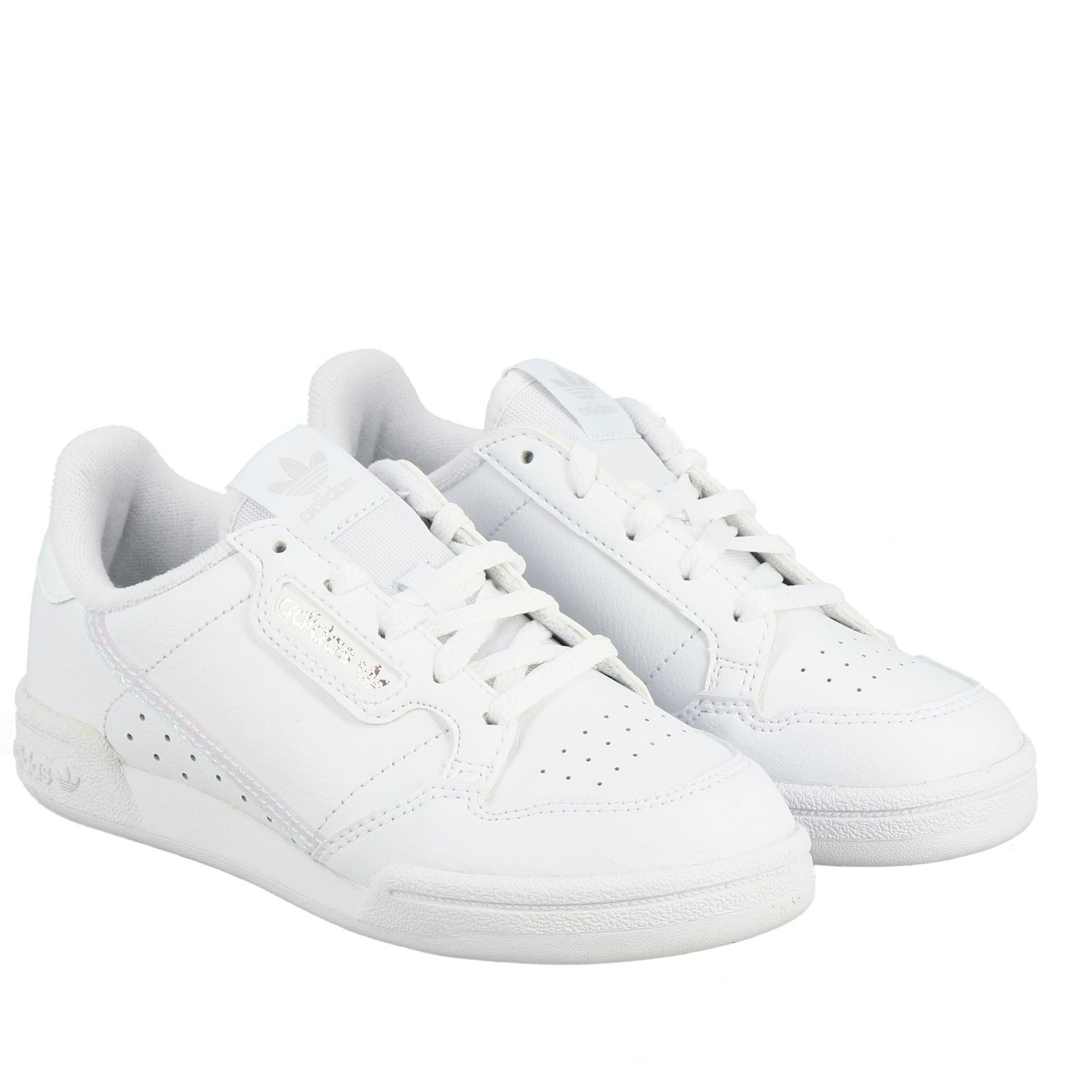 Scarpe Adidas Originals: Sneakers Continental 80 Adidas Originals in pelle bianco 2