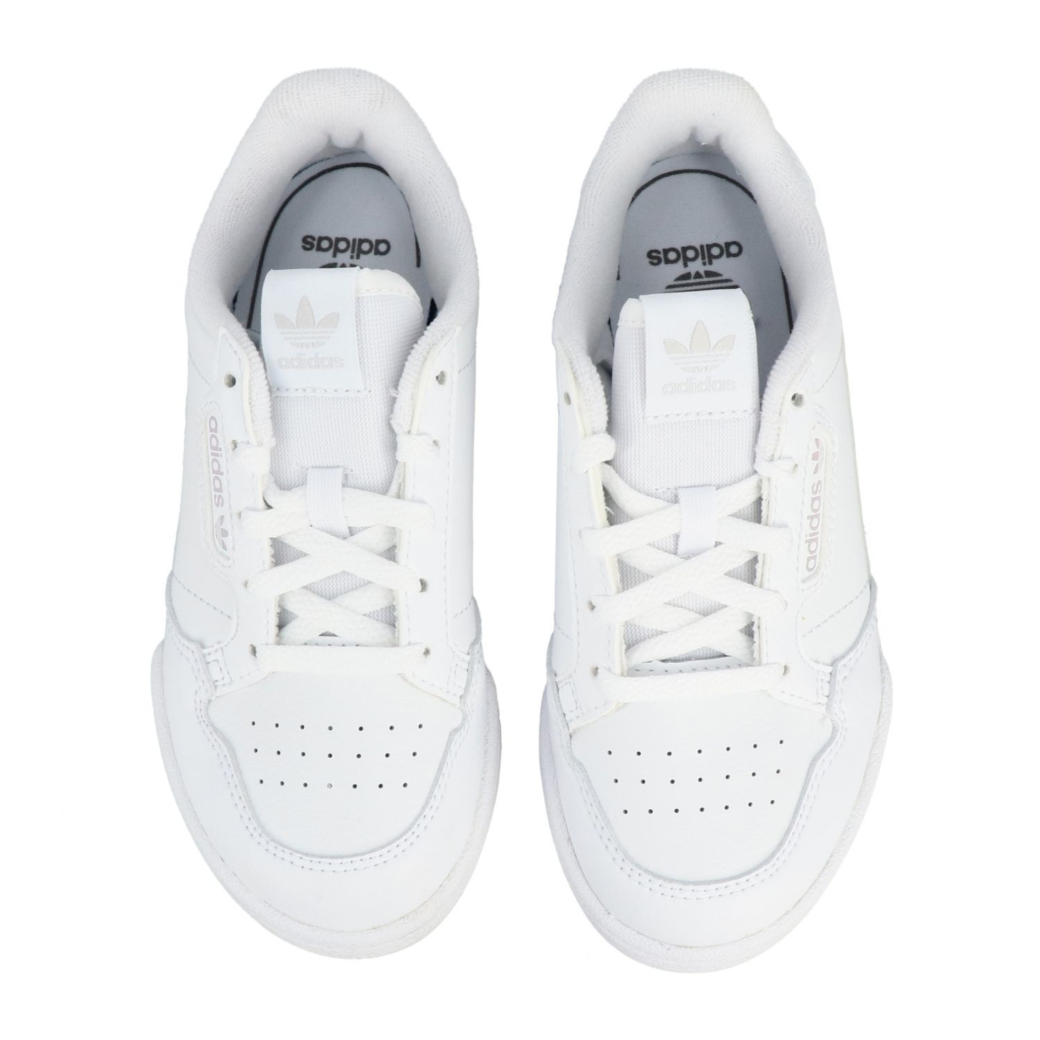 Scarpe Adidas Originals: Sneakers Continental 80 Adidas Originals in pelle bianco 3