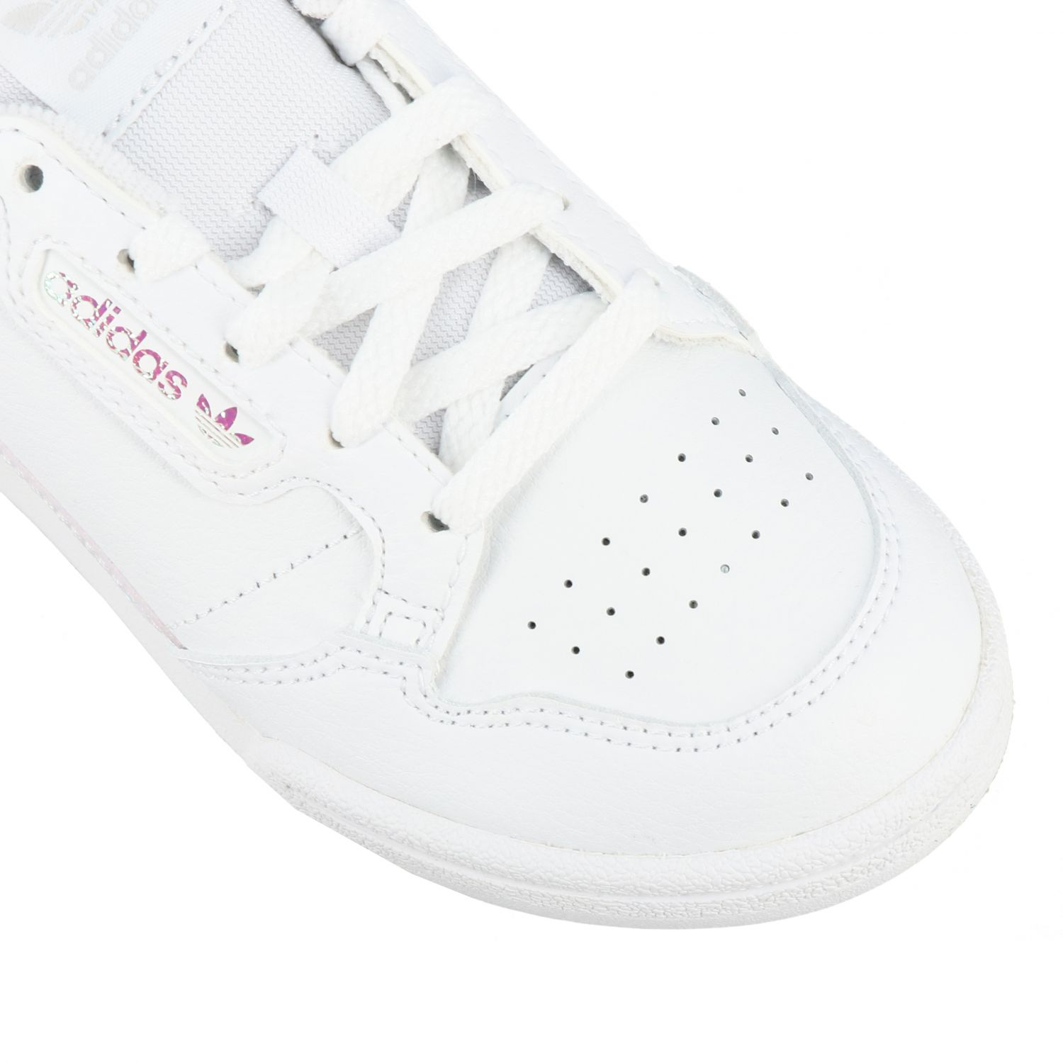 Scarpe Adidas Originals: Sneakers Continental 80 Adidas Originals in pelle bianco 4