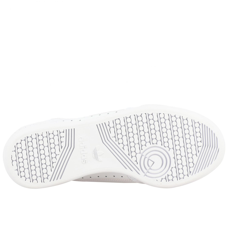 鞋履 Adidas Originals: Adidas Originals Continental 80 真皮运动鞋 白色 6