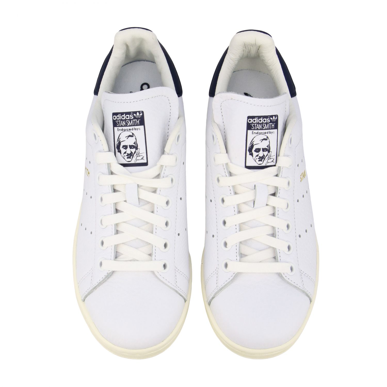 Спортивная обувь Adidas Originals: Кроссовки Stan smith из кожи Женское Adidas Originals белый 3