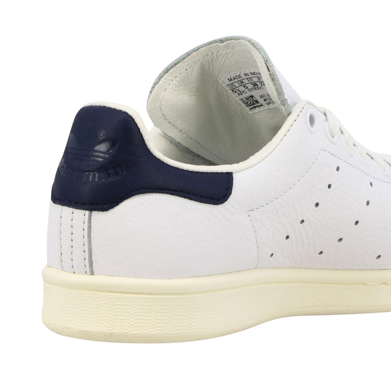 Спортивная обувь Adidas Originals: Кроссовки Stan smith из кожи Женское Adidas Originals белый 5