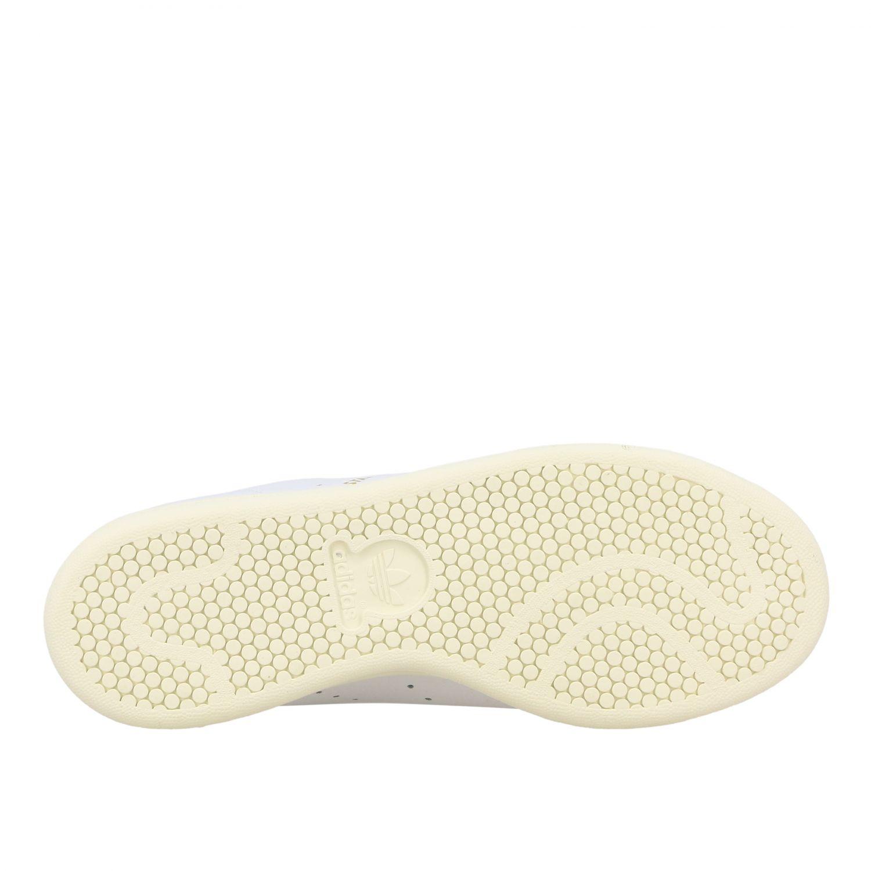 Спортивная обувь Adidas Originals: Кроссовки Stan smith из кожи Женское Adidas Originals белый 6