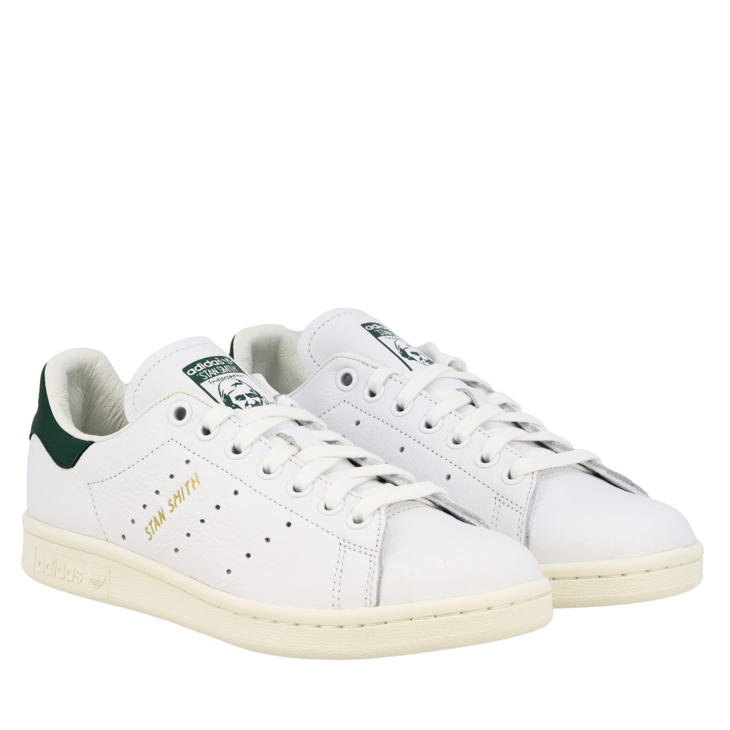 Sneakers Adidas Originals: Sneakers Stan smith Adidas Originals in pelle bianco 2