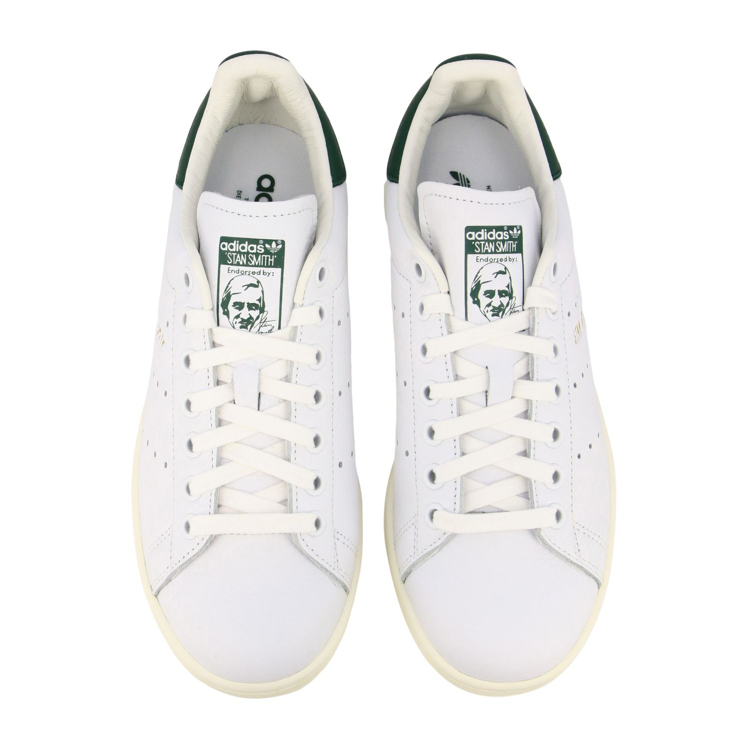 Sneakers Adidas Originals: Sneakers Stan smith Adidas Originals in pelle bianco 3