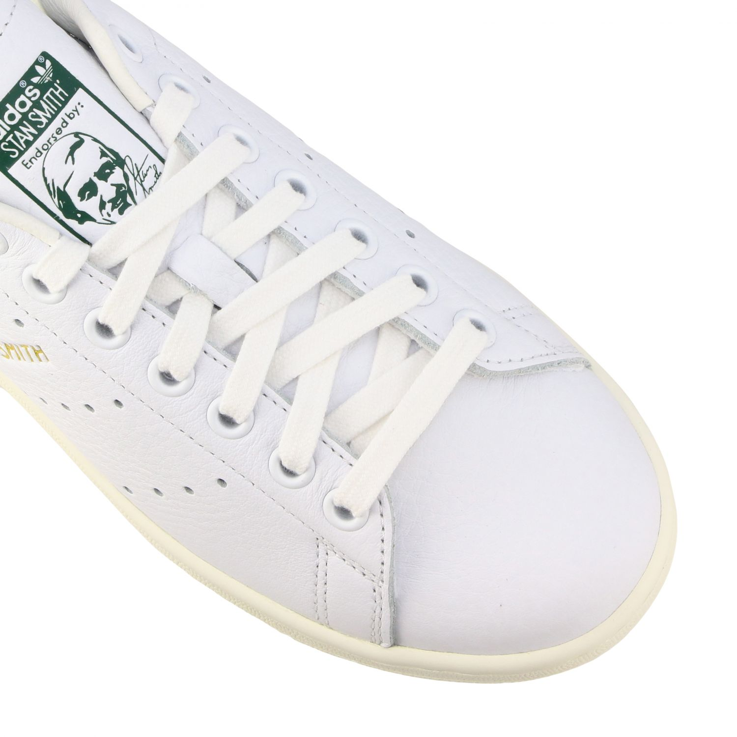 Sneakers Adidas Originals: Sneakers Stan smith Adidas Originals in pelle bianco 4