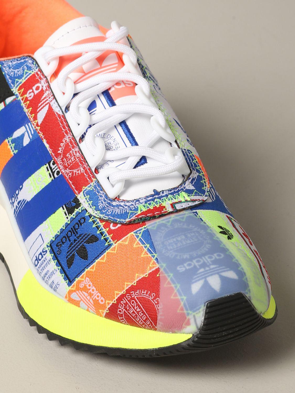 Baskets SL fashion Adidas Originals en toile imprimée