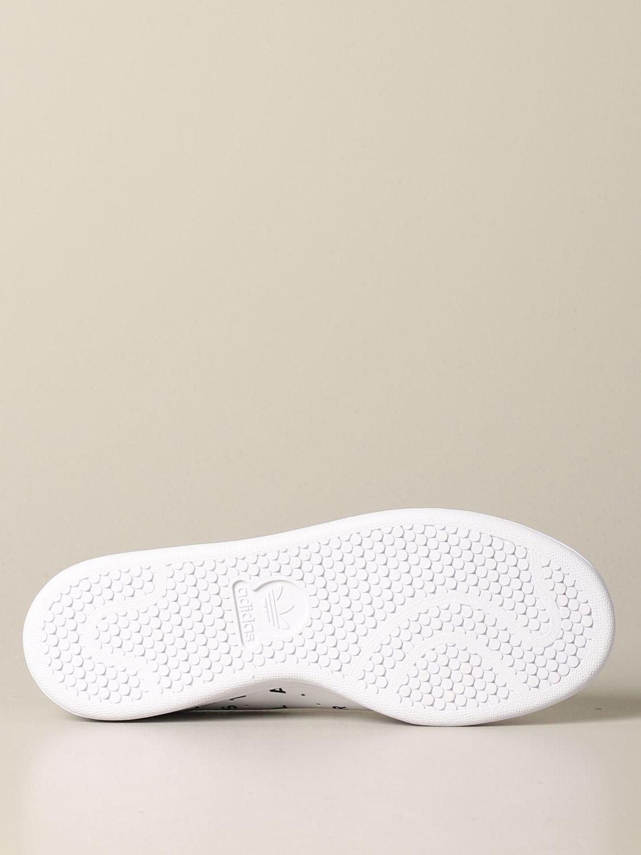 Sneakers Adidas Originals: Sneakers Stan smith Adidas Originals in pelle con stampe bianco 6