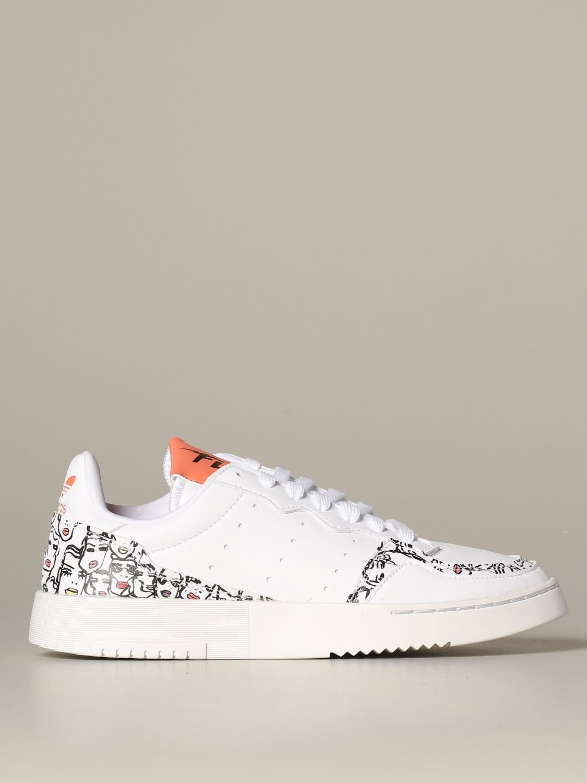 Zapatillas Adidas Originals: Zapatos mujer Adidas Originals blanco 1