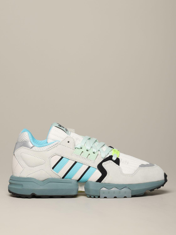 运动鞋 Adidas Originals: Adidas Originals Zx torsion 网眼丝绒运动鞋 灰色 1