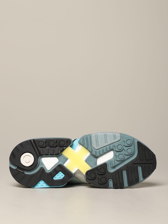 运动鞋 Adidas Originals: Adidas Originals Zx torsion 网眼丝绒运动鞋 灰色 6