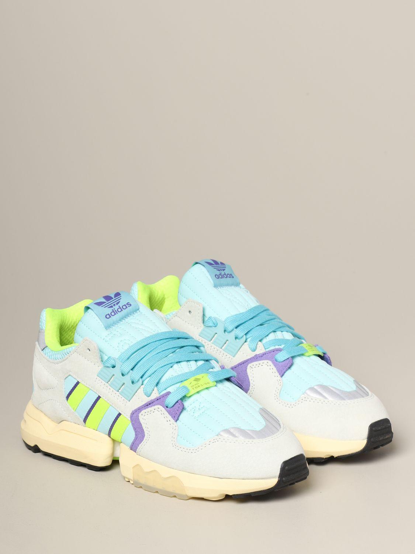 Sneakers Adidas Originals: Adidas Originals Zx torsion sneakers in mesh and suede water 2