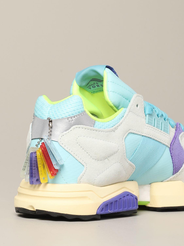 Sneakers Adidas Originals: Adidas Originals Zx torsion sneakers in mesh and suede water 5
