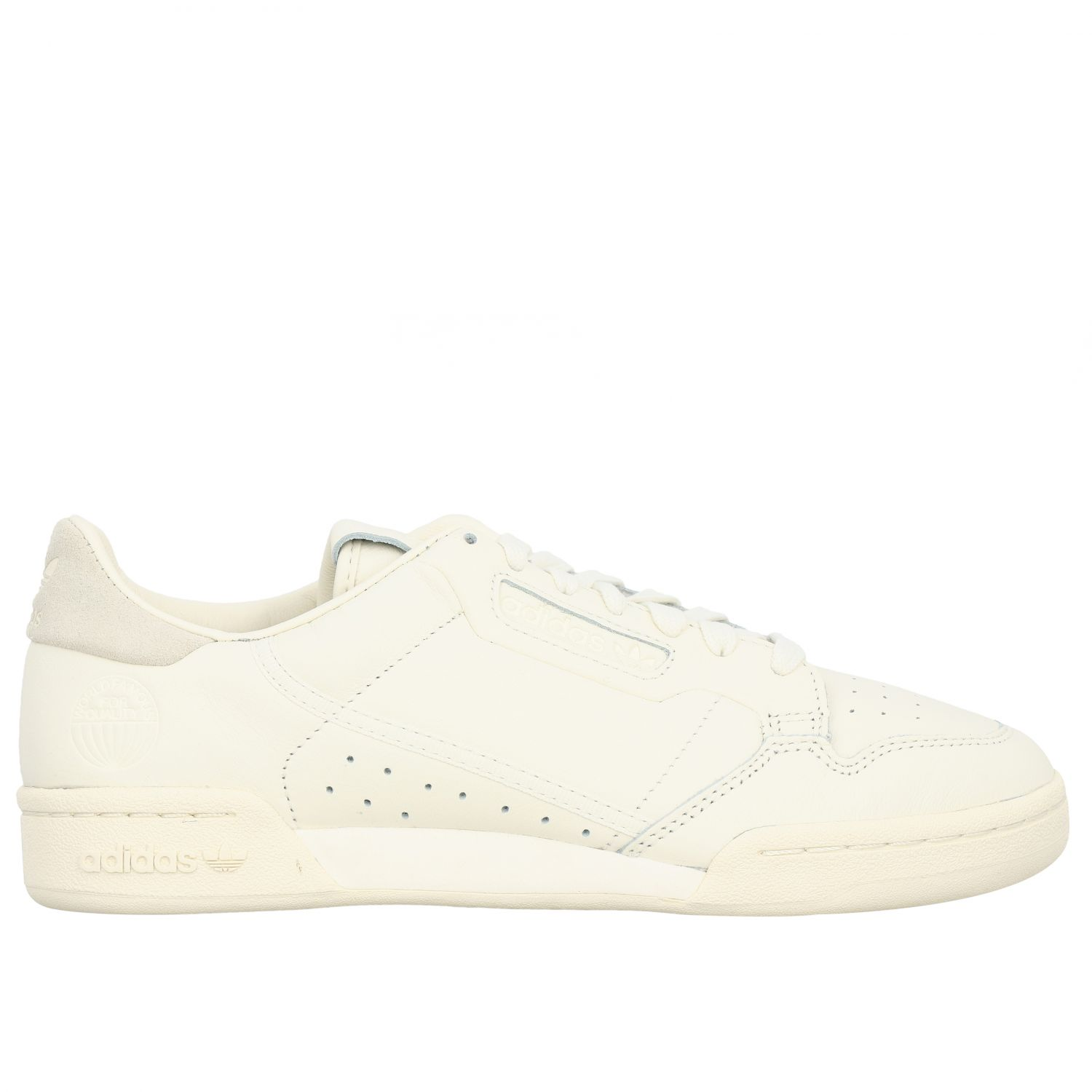 Sneakers Adidas Originals: Continental 80 Adidas Originals Sneakers aus Leder yellow cream 1
