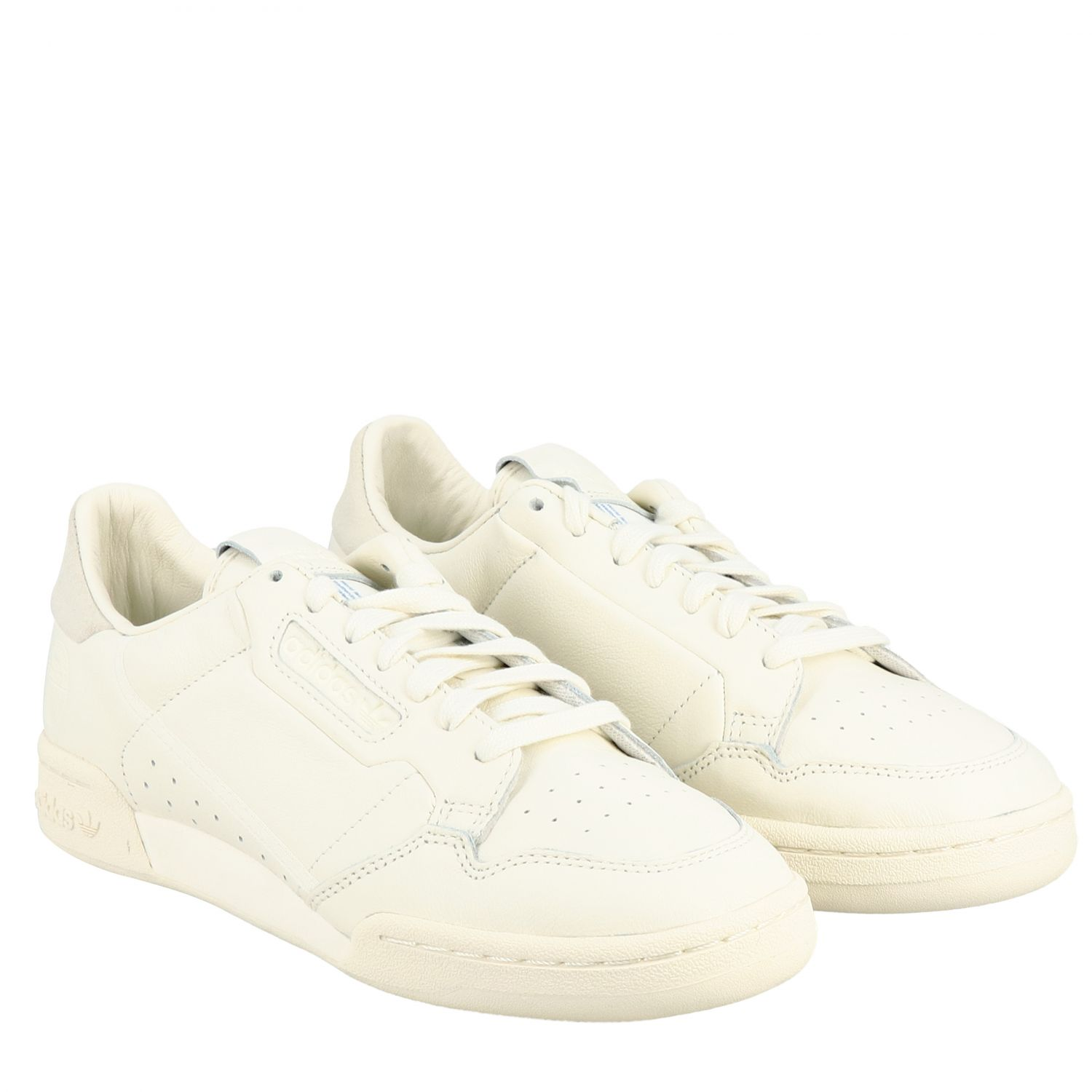 Sneakers Adidas Originals: Continental 80 Adidas Originals Sneakers aus Leder yellow cream 2