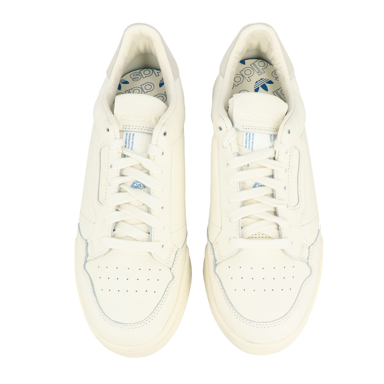 Sneakers Adidas Originals: Continental 80 Adidas Originals Sneakers aus Leder yellow cream 3