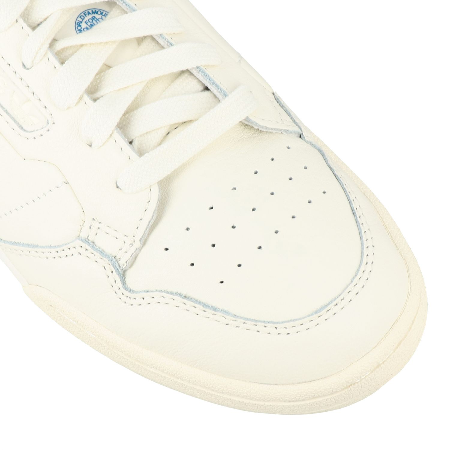 Sneakers Adidas Originals: Continental 80 Adidas Originals Sneakers aus Leder yellow cream 4