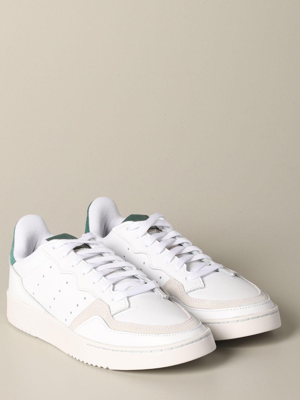 Sneakers Adidas Originals: Supercourt Adidas Originals leather sneakers white 2
