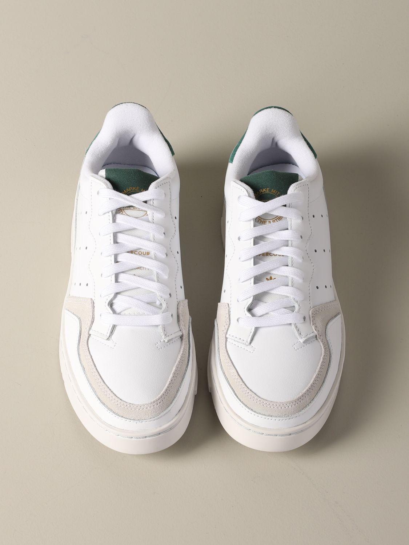 Sneakers Adidas Originals: Supercourt Adidas Originals leather sneakers white 3