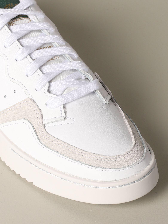 Sneakers Adidas Originals: Supercourt Adidas Originals leather sneakers white 4