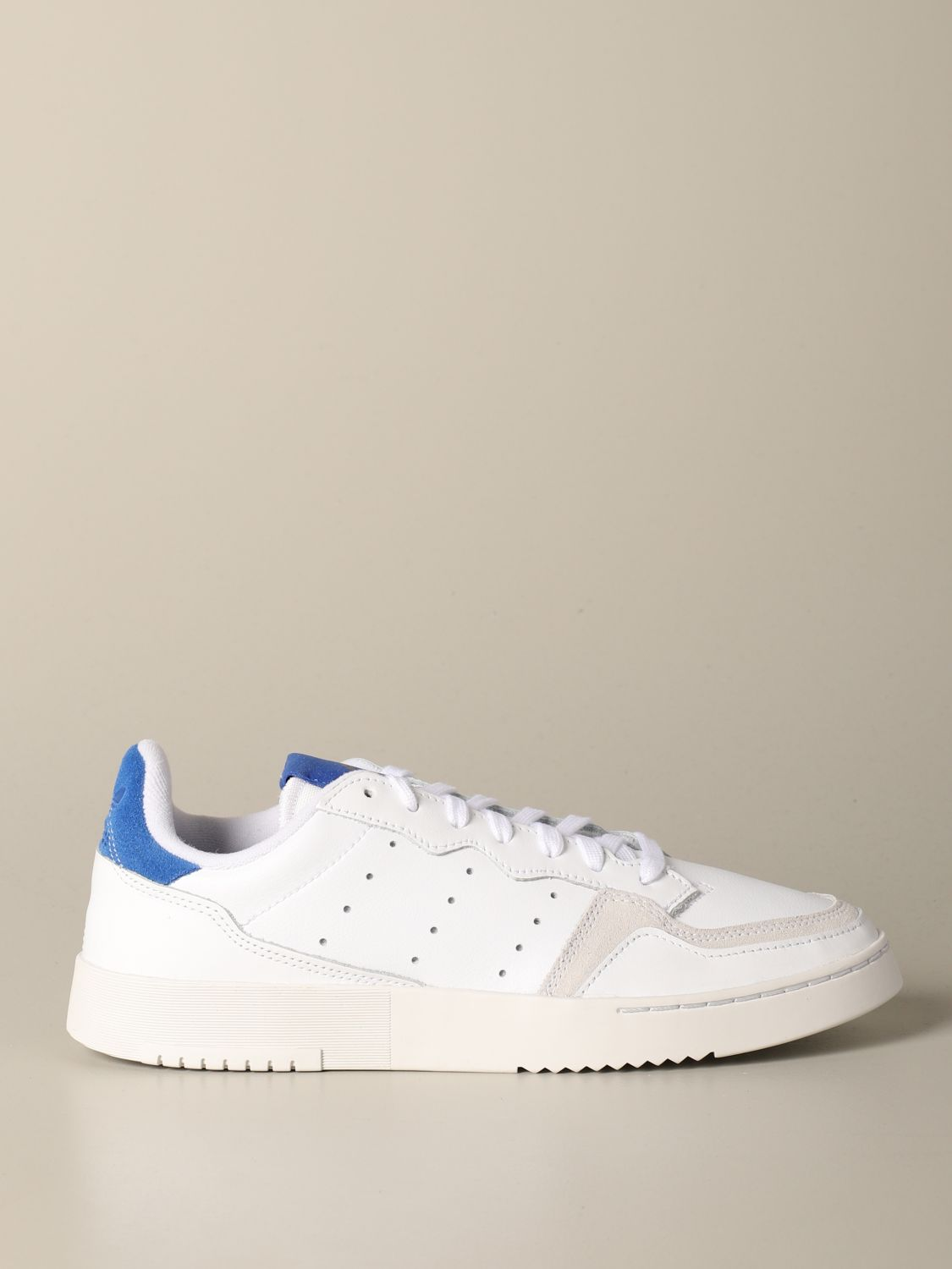 Sneakers Adidas Originals: Sneakers Supercourt Adidas Originals in pelle e camoscio bianco 1