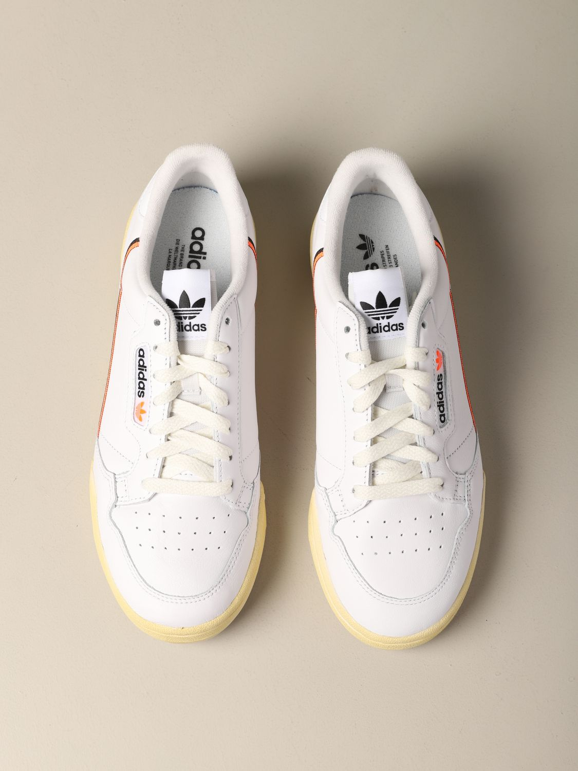 Sneakers Adidas Originals: Sneakers Continental 80 Adidas Originals in pelle bianco 3