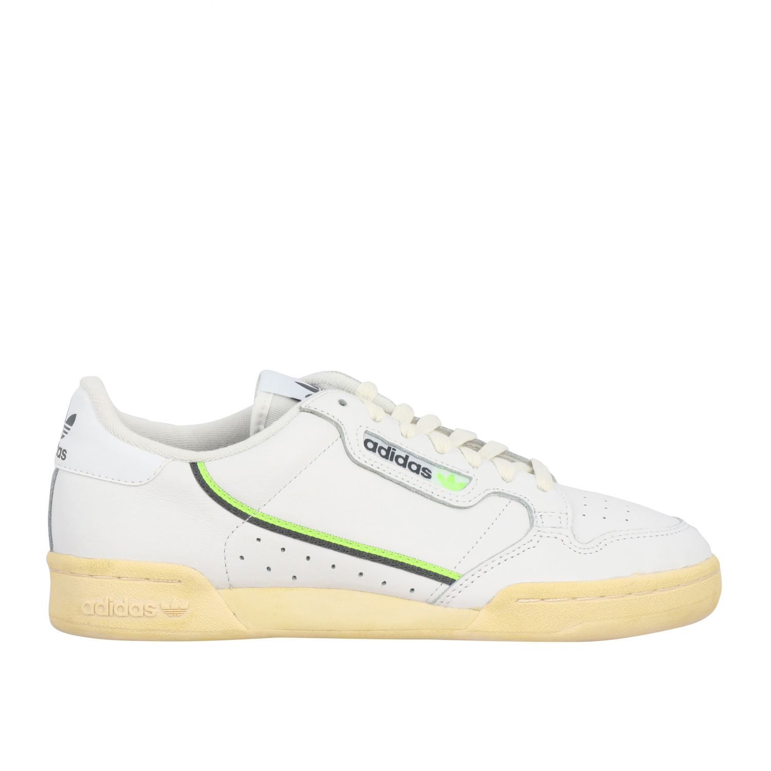 Sneakers Adidas Originals: Sneakers Continental 80 Adidas Originals in pelle bianco 1