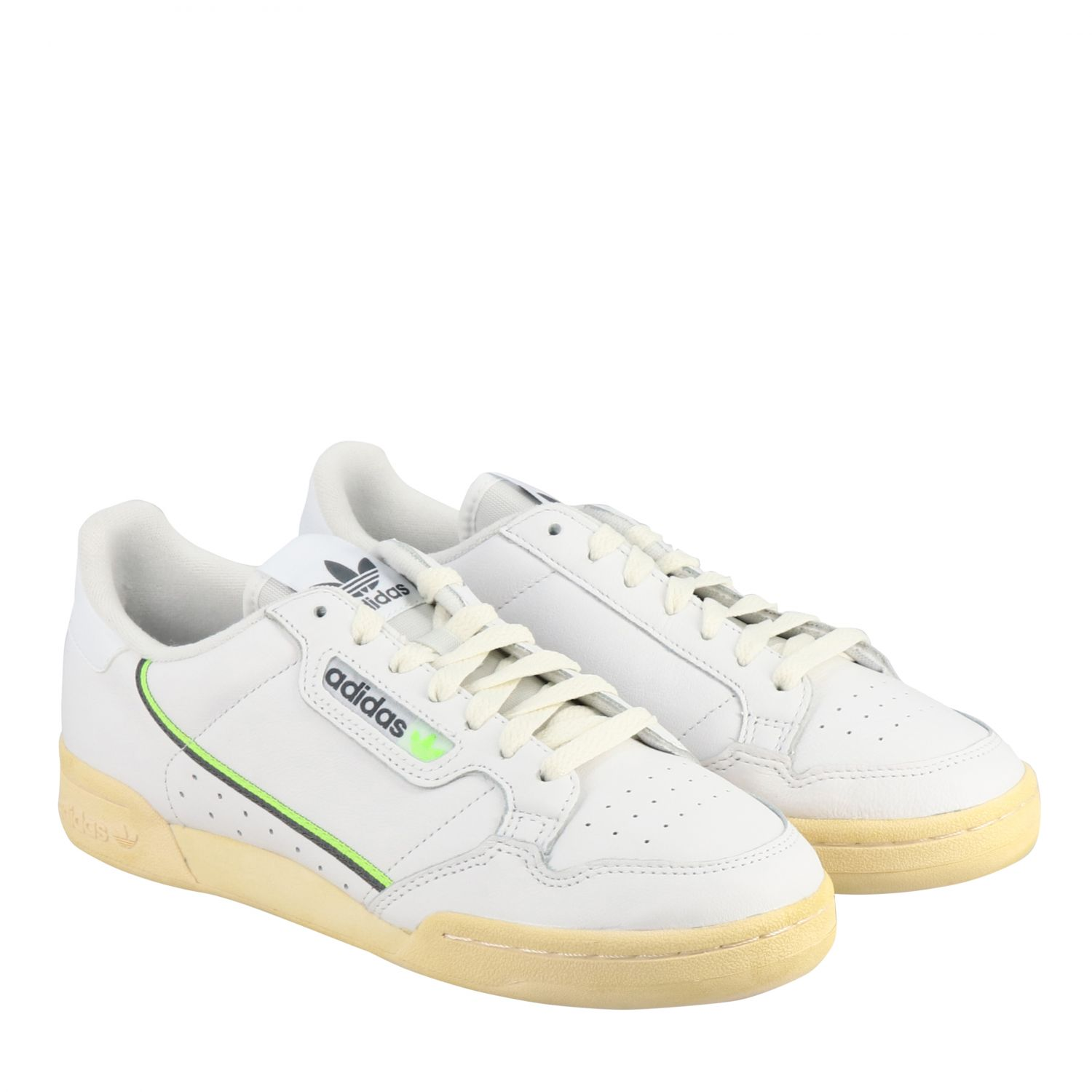 Sneakers Adidas Originals: Sneakers Continental 80 Adidas Originals in pelle bianco 2