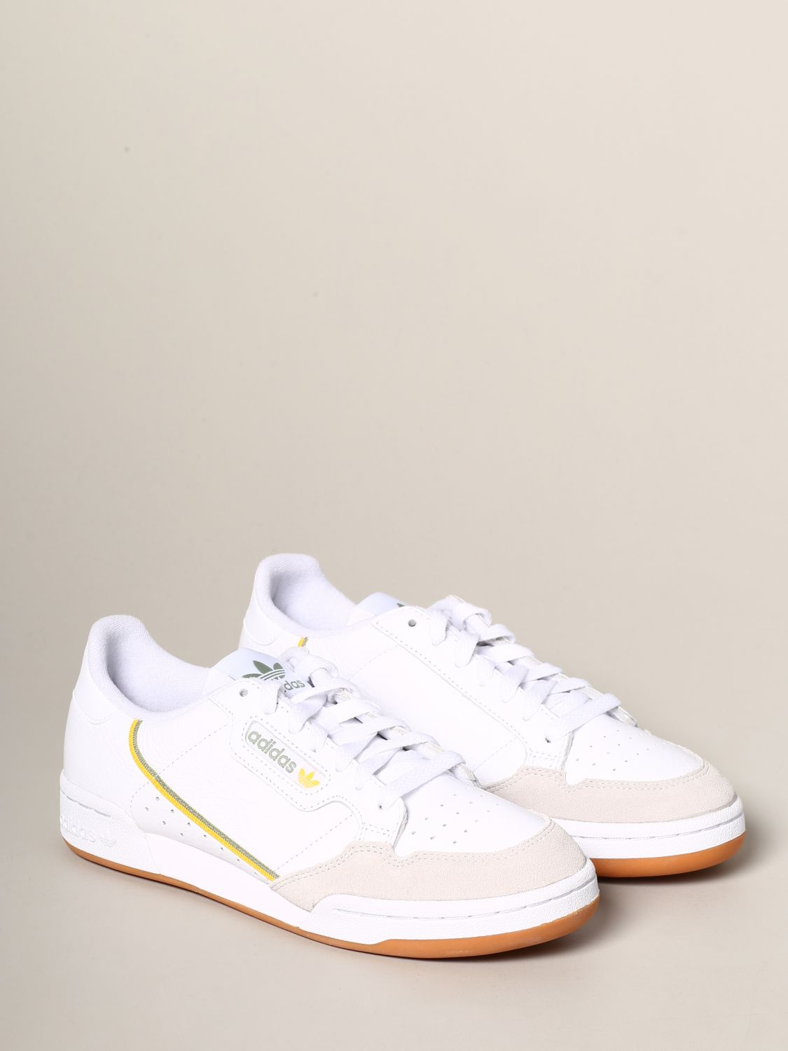 Sneakers Adidas Originals: Adidas Originals Continental 80 sneakers in leather and suede white 2