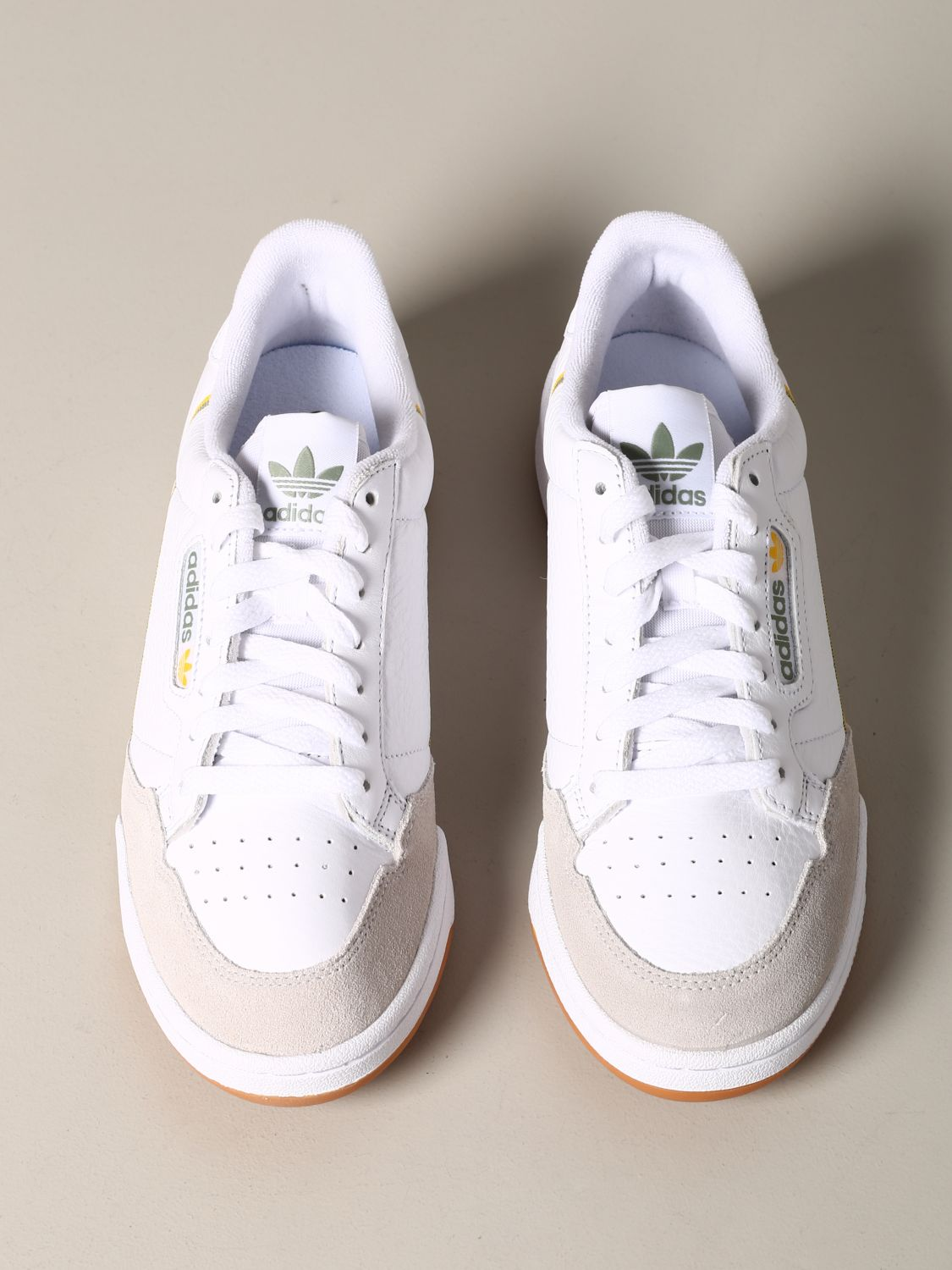 Sneakers Adidas Originals: Adidas Originals Continental 80 sneakers in leather and suede white 3