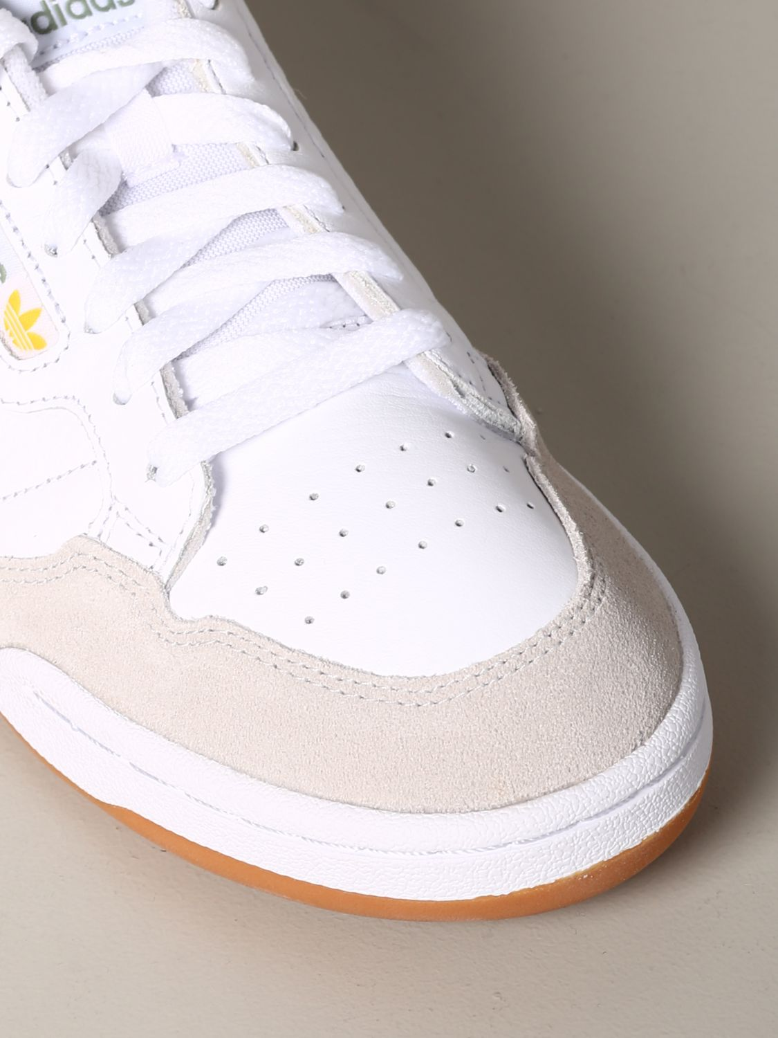 Sneakers Adidas Originals: Adidas Originals Continental 80 sneakers in leather and suede white 4