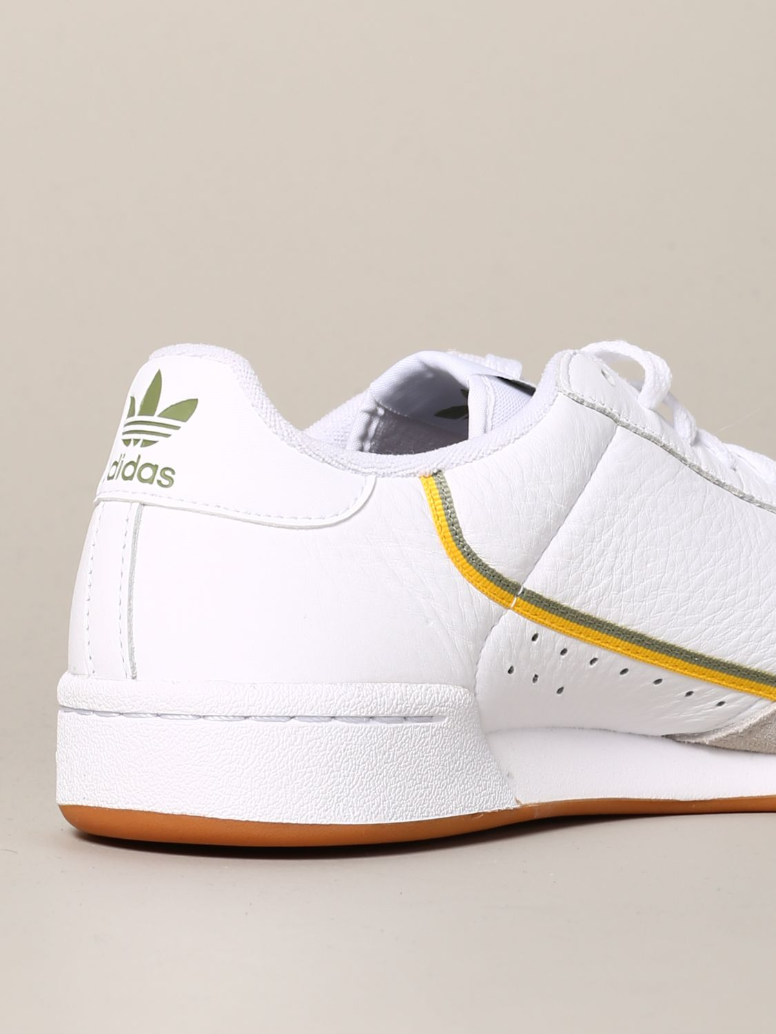 Sneakers Adidas Originals: Adidas Originals Continental 80 sneakers in leather and suede white 5