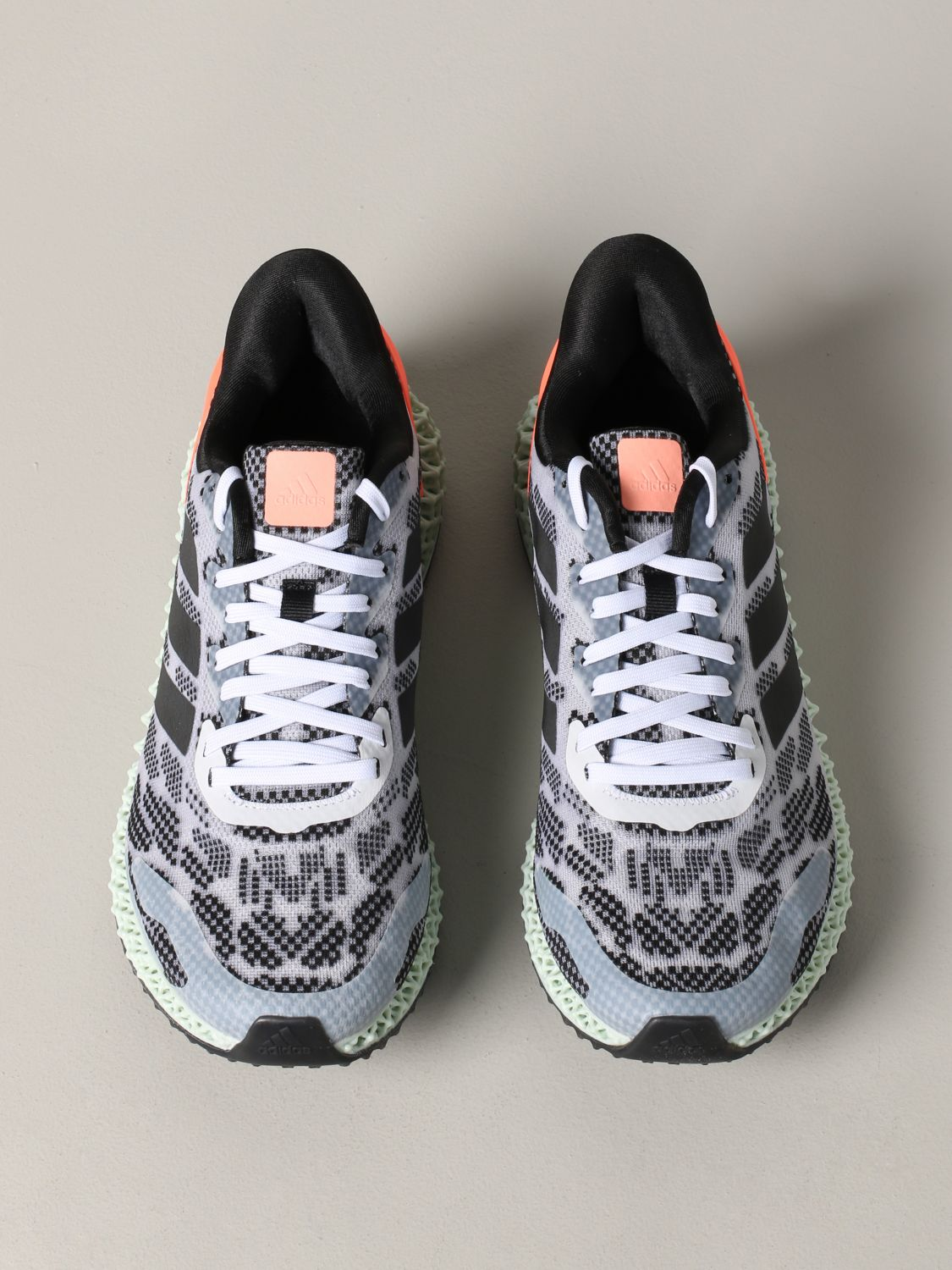 运动鞋 Adidas Originals: Adidas Originals 4d run 1.0 运动鞋 白色 3