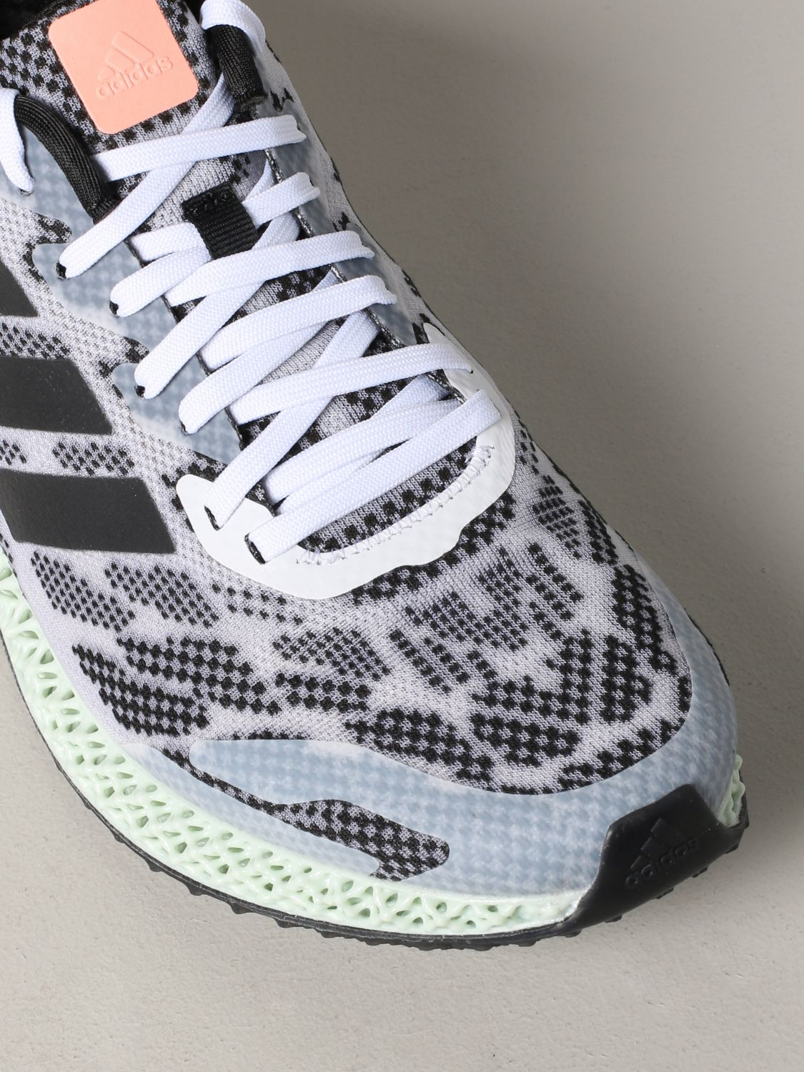 运动鞋 Adidas Originals: Adidas Originals 4d run 1.0 运动鞋 白色 4