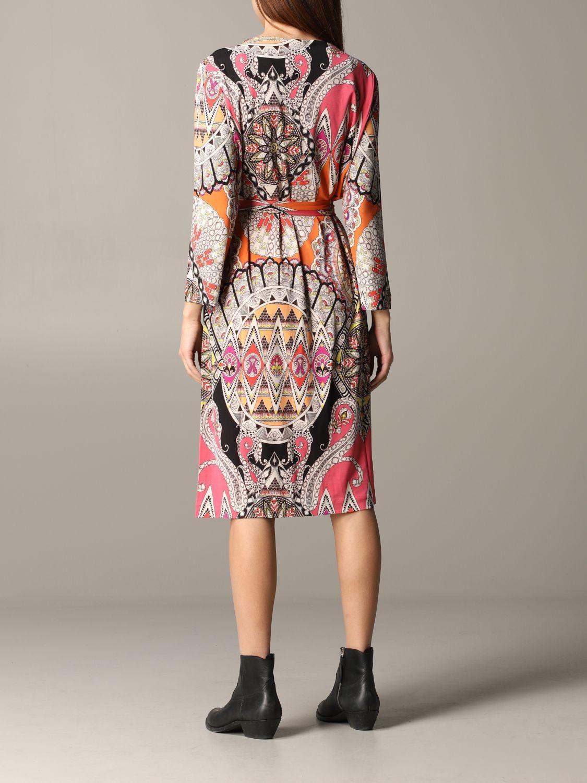 Dress women Etro orange 2