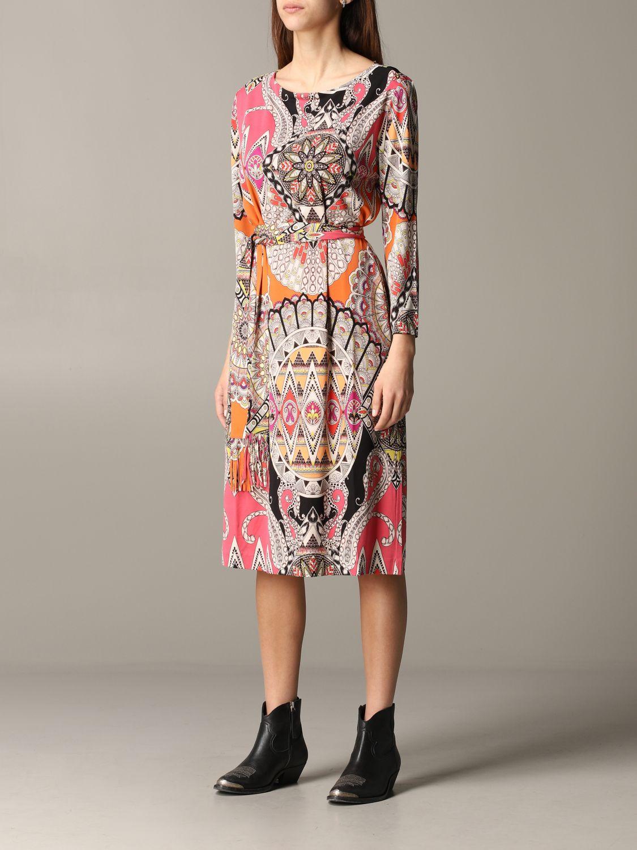 Dress women Etro orange 3