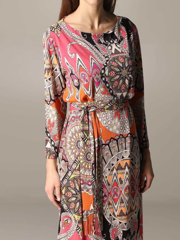 Dress women Etro orange 4